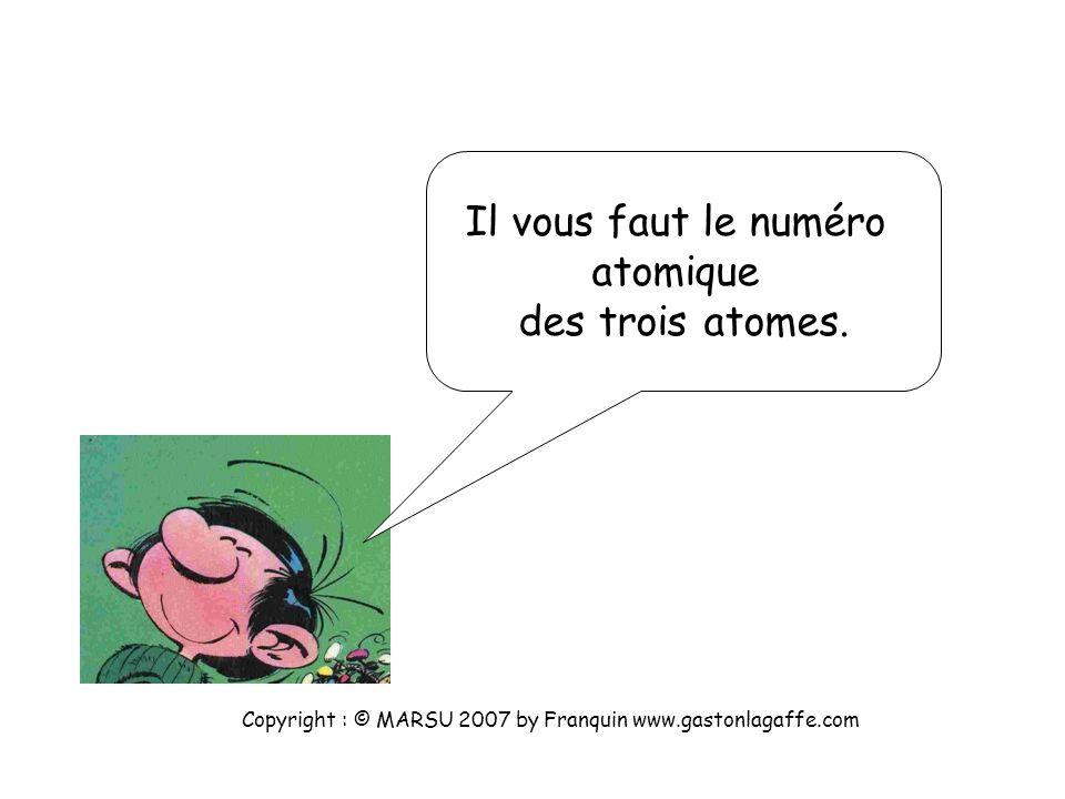 Pas trop prise de tête ? Copyright : © MARSU 2007 by Franquin www.gastonlagaffe.com