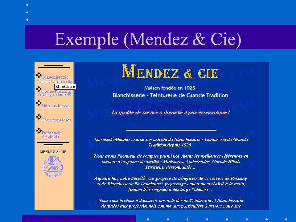 Exemple (Mendez & Cie)