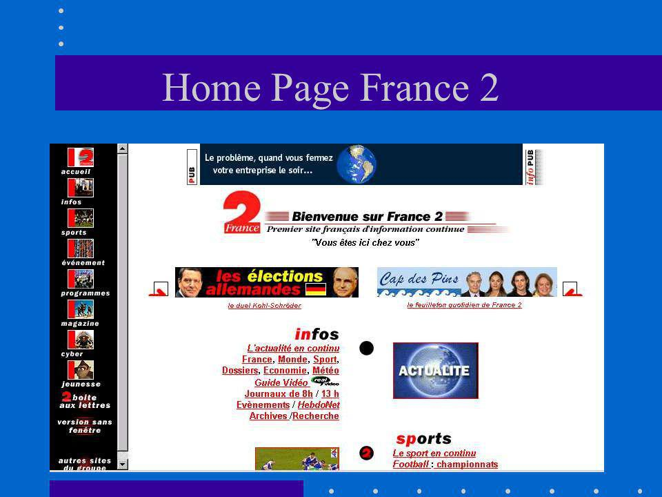 Home Page France 2