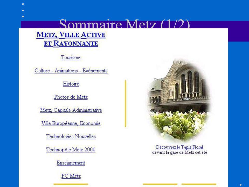 Sommaire Metz (1/2)