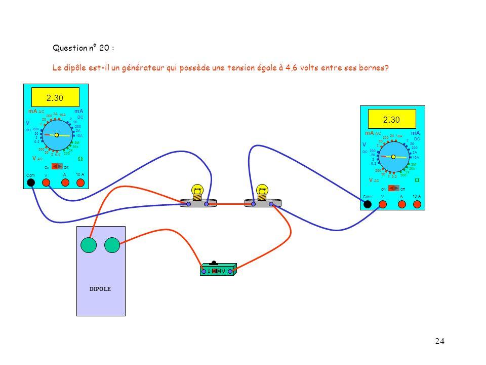 24 DIPOLE 10 10 A 2. 30 Com mA DC A OffOn 10A 2A 200 20 V 2 V AC mA AC V DC 2M 20k 2k 200 0.2 2 200 20 2 0.2 2 20 200 10A 2A 200 20 10 A 2. 30 Com mA