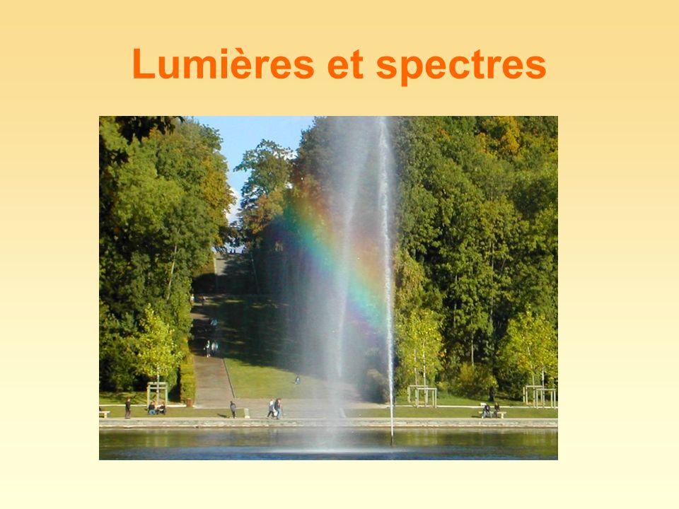 Quelle est lallure du spectre obtenu ? Comment le qualifie-t-on ?