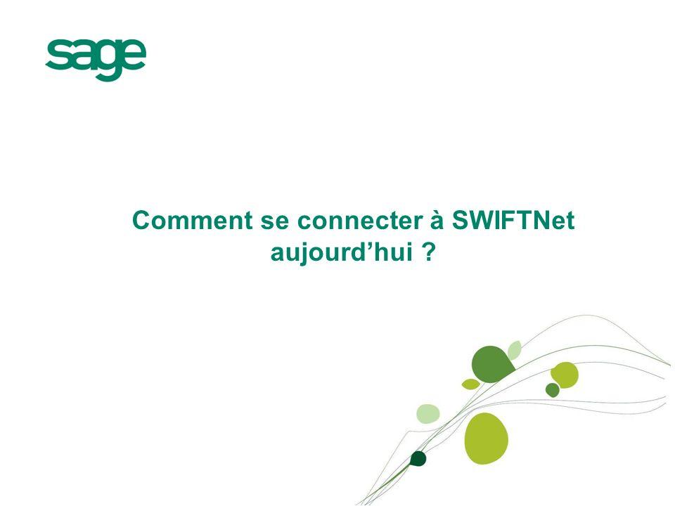 Comment se connecter à SWIFTNet aujourdhui ?
