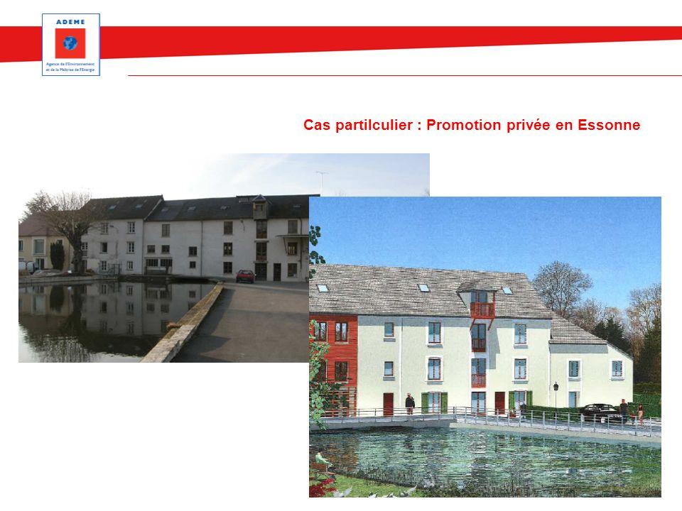 Cas partilculier : Promotion privée en Essonne