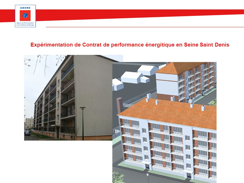 Expérimentation de Contrat de performance énergitique en Seine Saint Denis