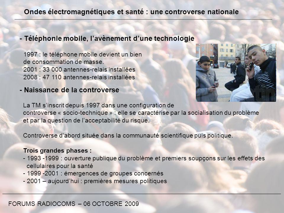 - Téléphonie mobile, lavènement dune technologie 1997 : le téléphone mobile devient un bien de consommation de masse. 2001 : 33 000 antennes-relais in