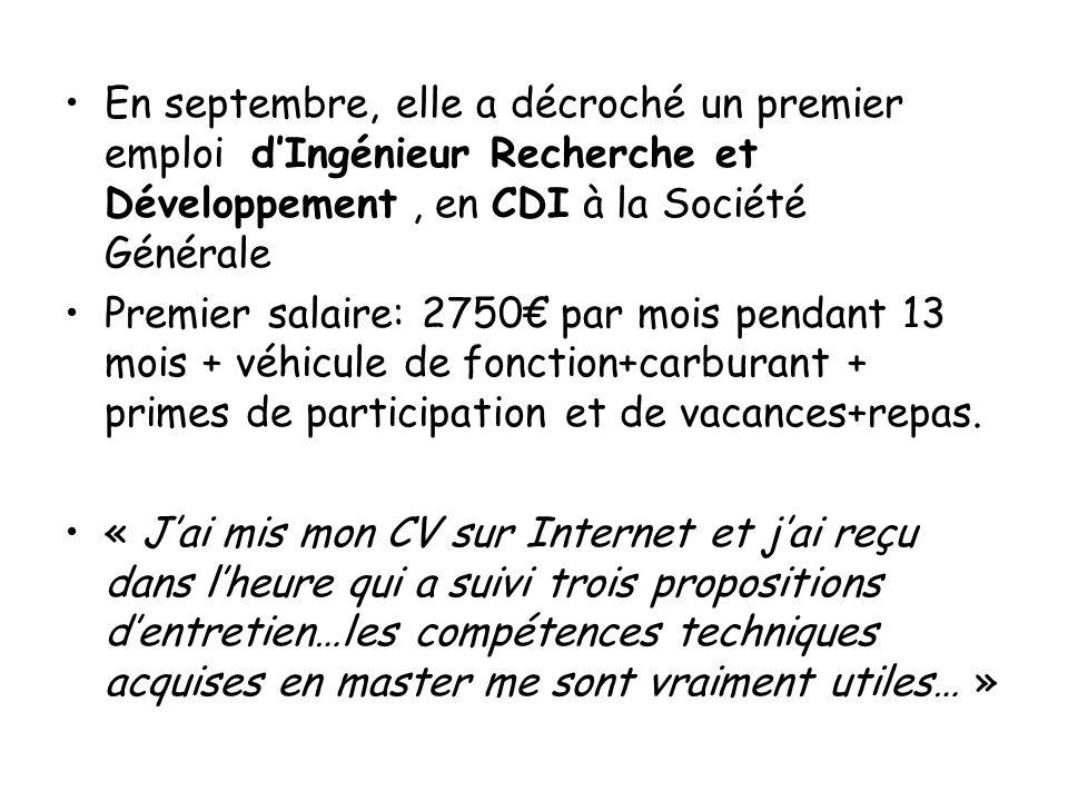 découverte des métiers Université d'Orléans Le témoignage de F., étudiante à Orléans en 2006 F. a obtenu un master de mathématiques spécialité « aide