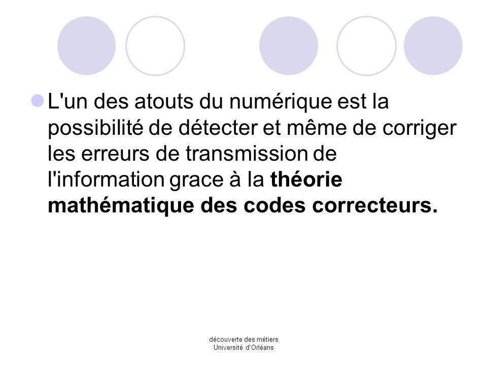 découverte des métiers Université d'Orléans Pour numériser le son, on relève l'amplitude du signal électrique analogique à intervalle de temps régulie