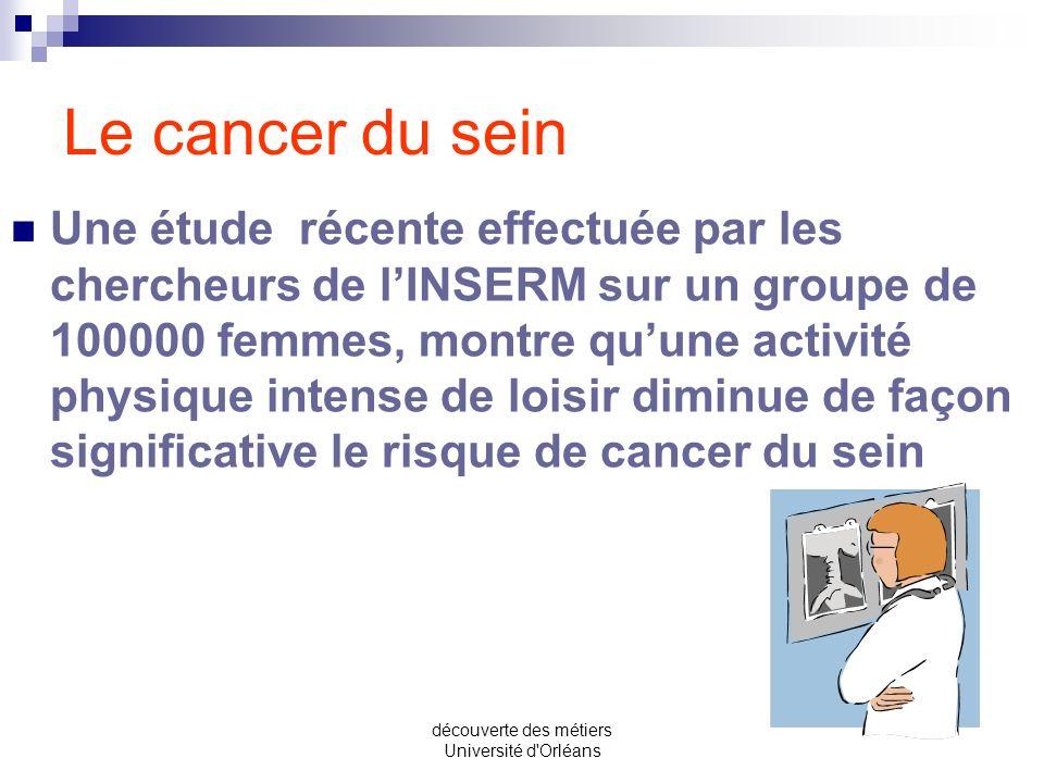 découverte des métiers Université d'Orléans Depuis 1984, le réseau sentinelles effectue une surveillance statistique de la grippe en France et des pos