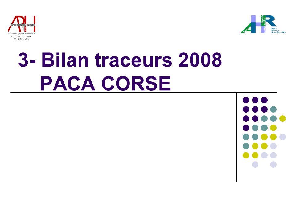 3- Bilan traceurs 2008 PACA CORSE