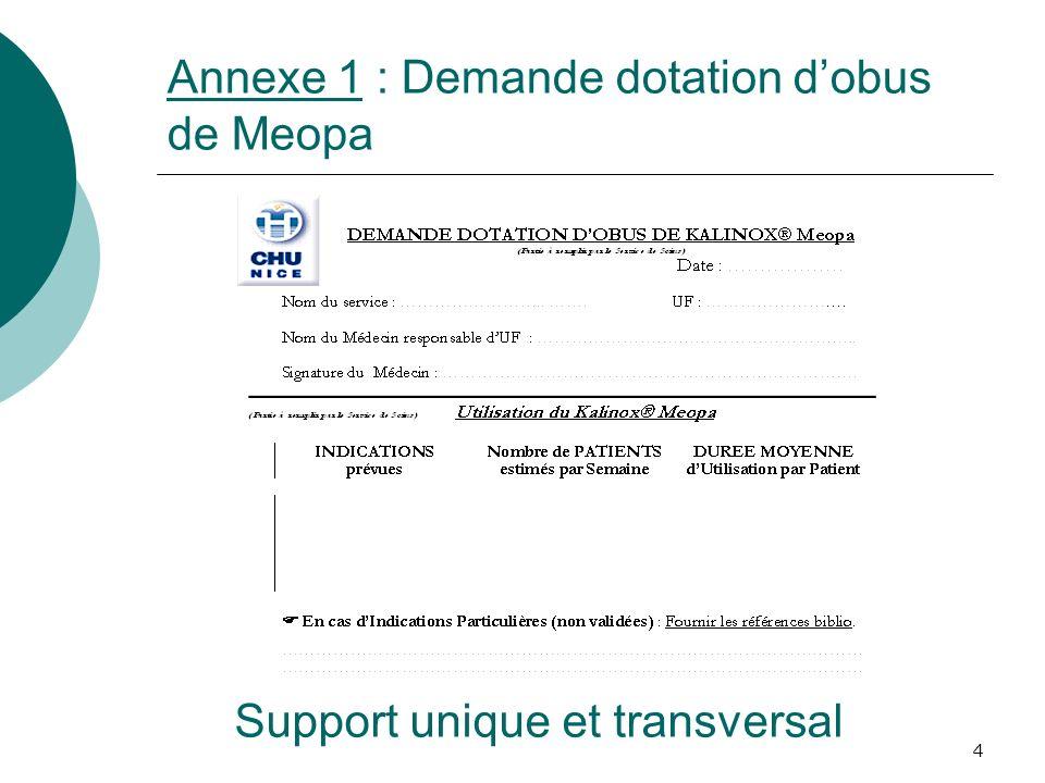 4 Annexe 1 : Demande dotation dobus de Meopa Support unique et transversal