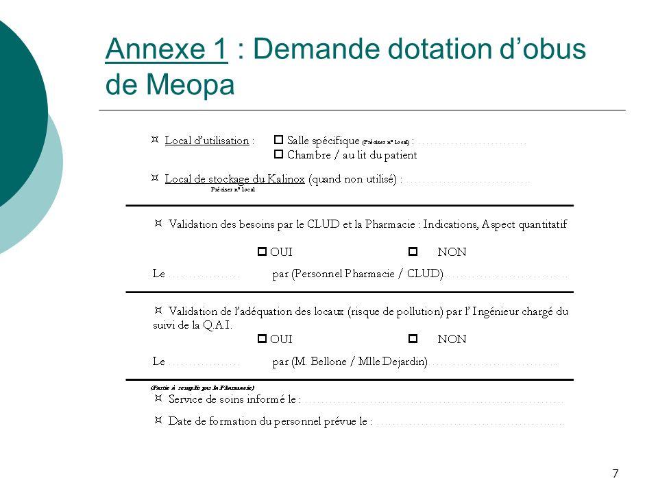 7 Annexe 1 : Demande dotation dobus de Meopa