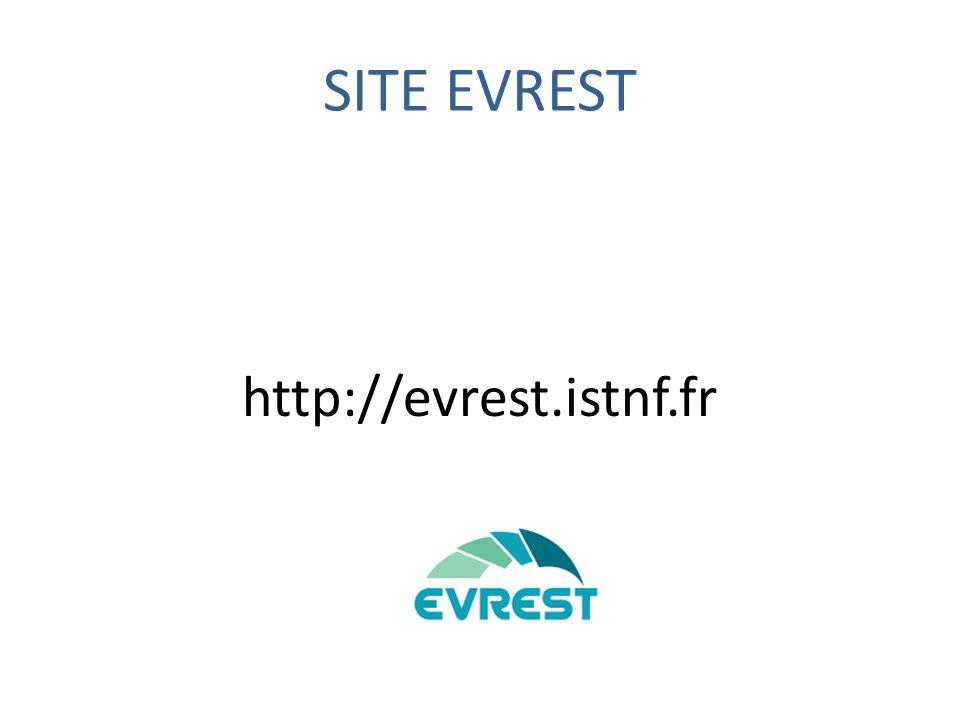 SITE EVREST http://evrest.istnf.fr