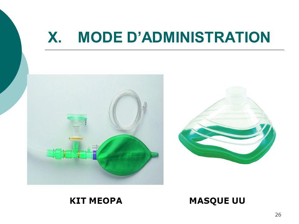 26 X.MODE DADMINISTRATION KIT MEOPAMASQUE UU