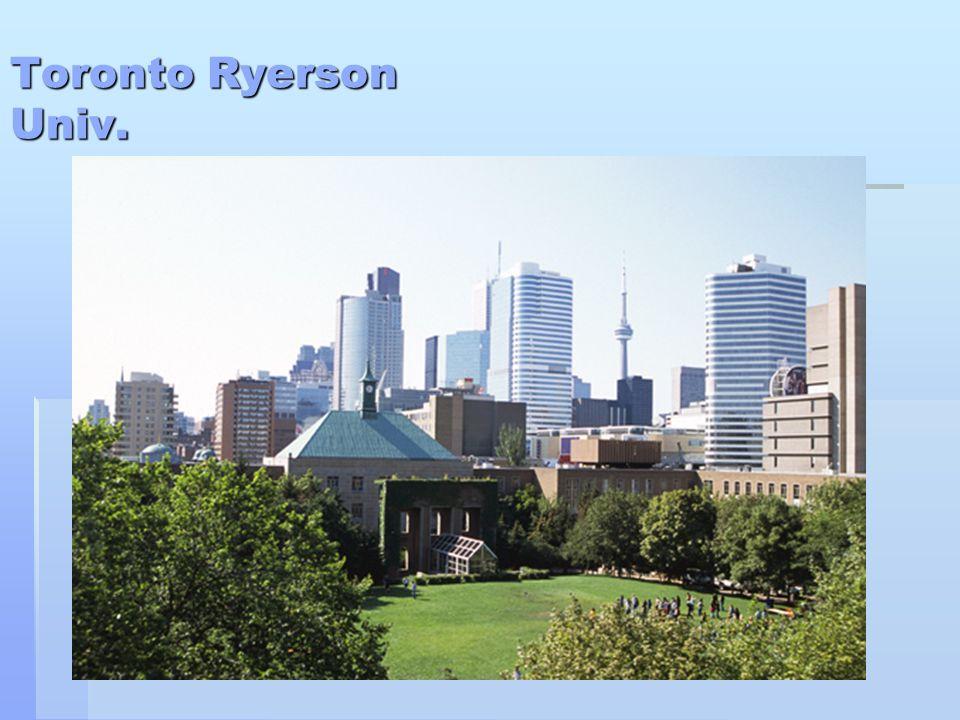 Toronto Ryerson Univ.
