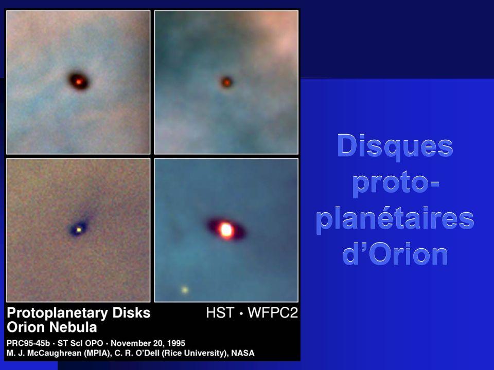 Disques proto- planétaires dOrion