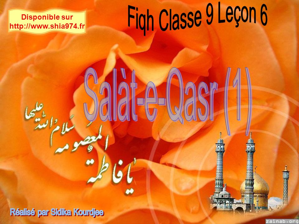 Disponible sur http://www.shia974.fr