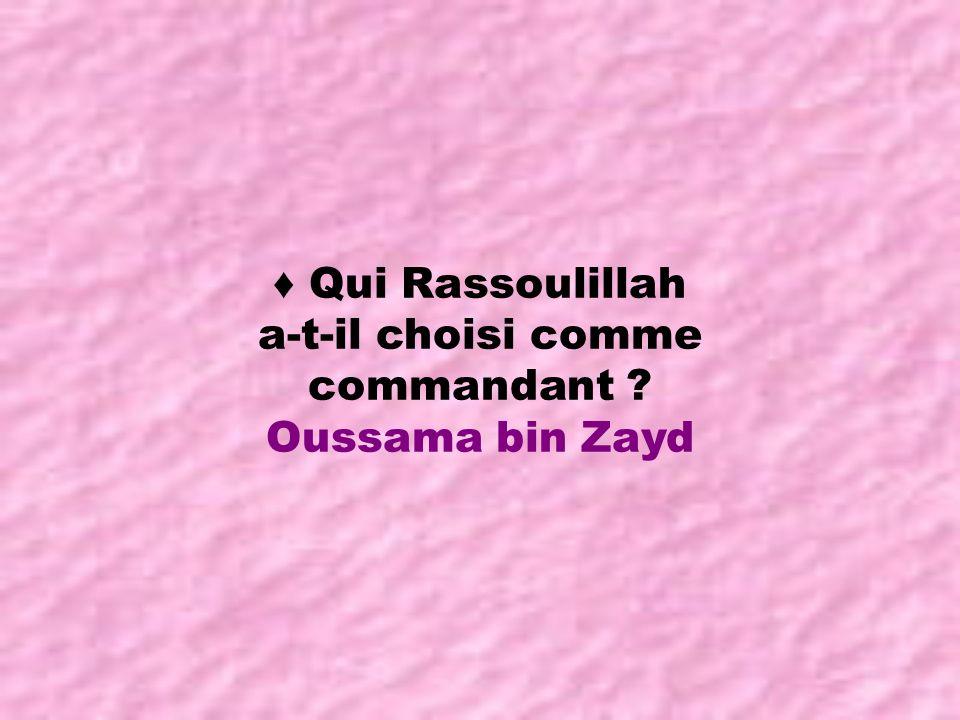Quand est-ce que Rassoulillah est revenu de son dernier hajj ?