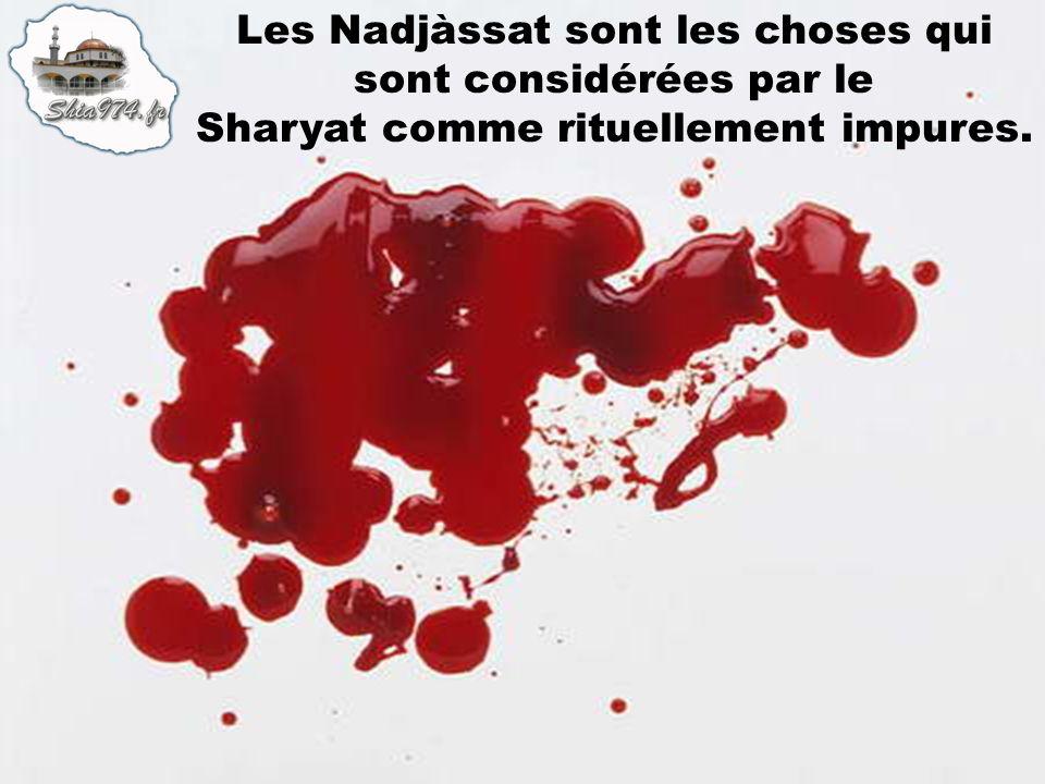 Les Nadjàssat sont les choses qui sont considérées par le Sharyat comme rituellement impures.