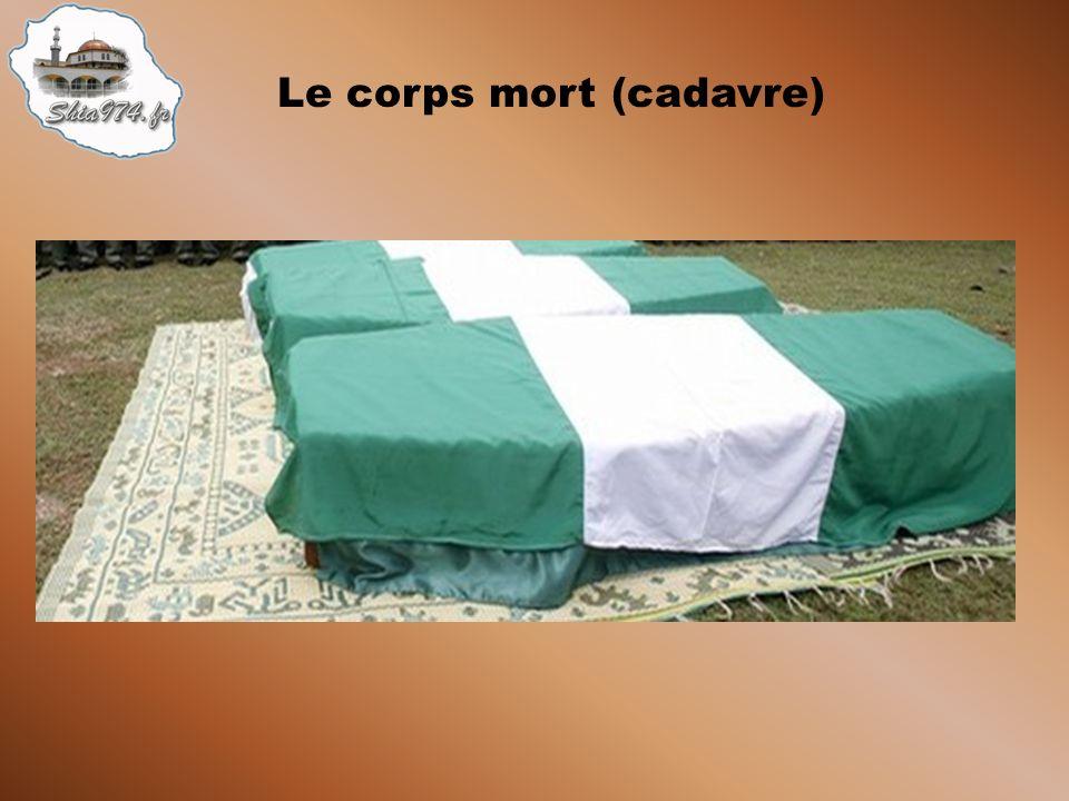 Le corps mort (cadavre)