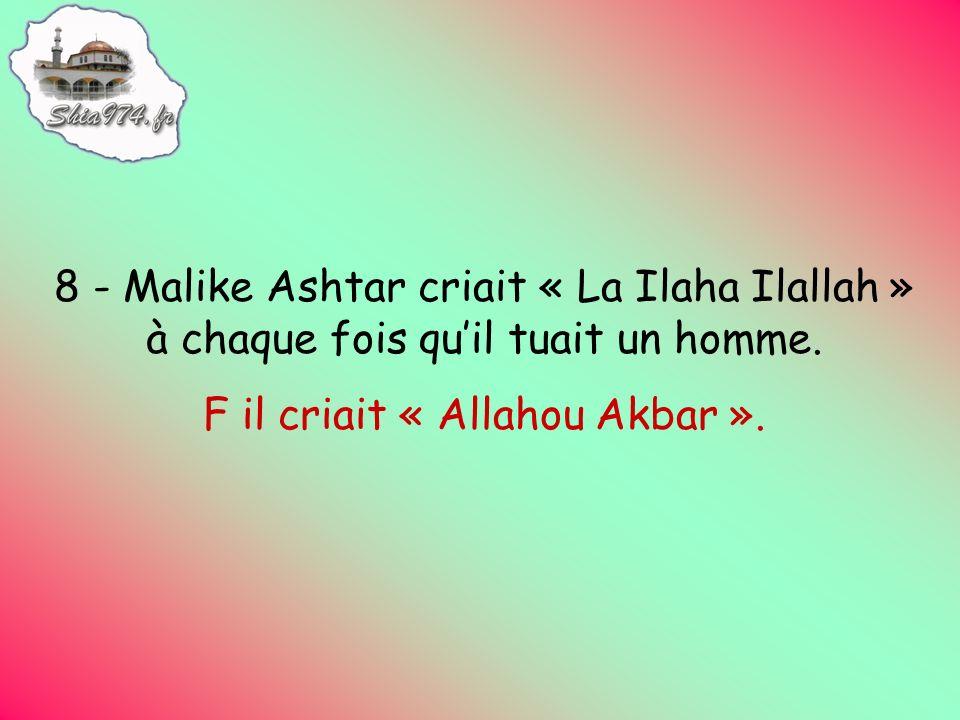 F il criait « Allahou Akbar ».