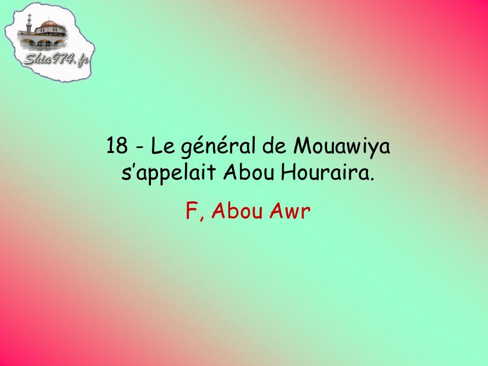 F, Abou Awr