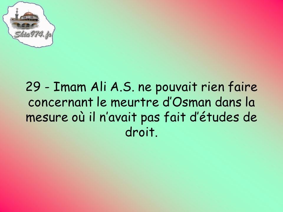 29 - Imam Ali A.S.