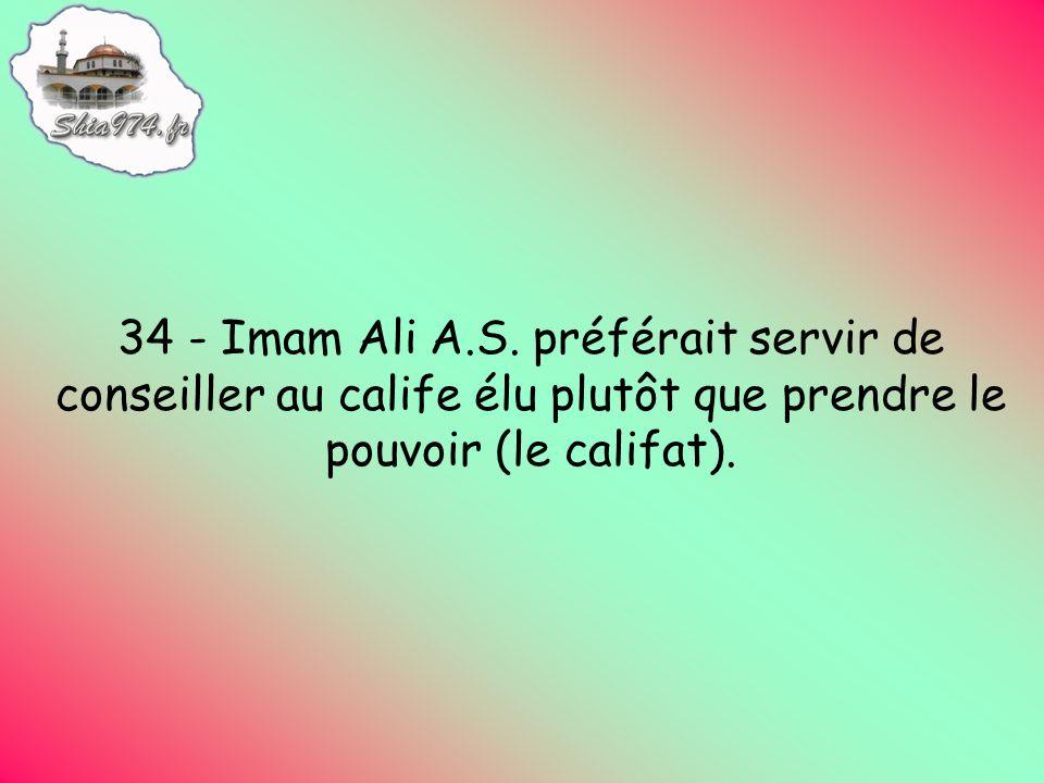 34 - Imam Ali A.S.
