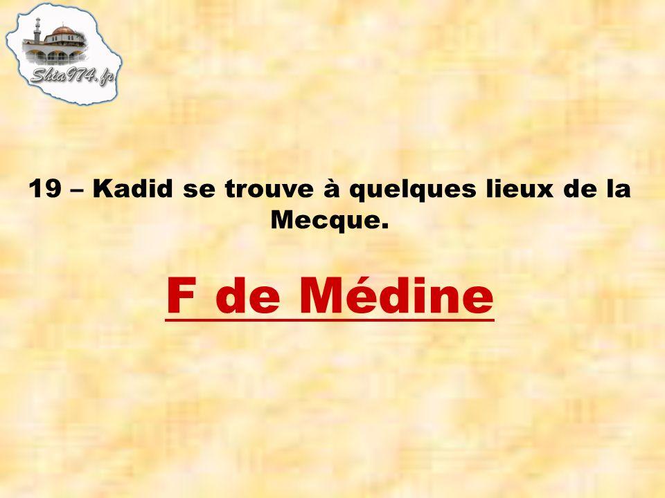 F de Médine