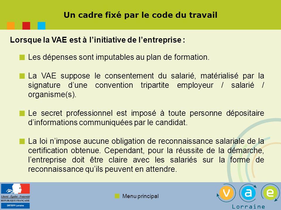 Menu principal Des entreprises témoignent de leur expérience Les raisons de faire appel à la VAE, les bénéfices pour lentreprise.
