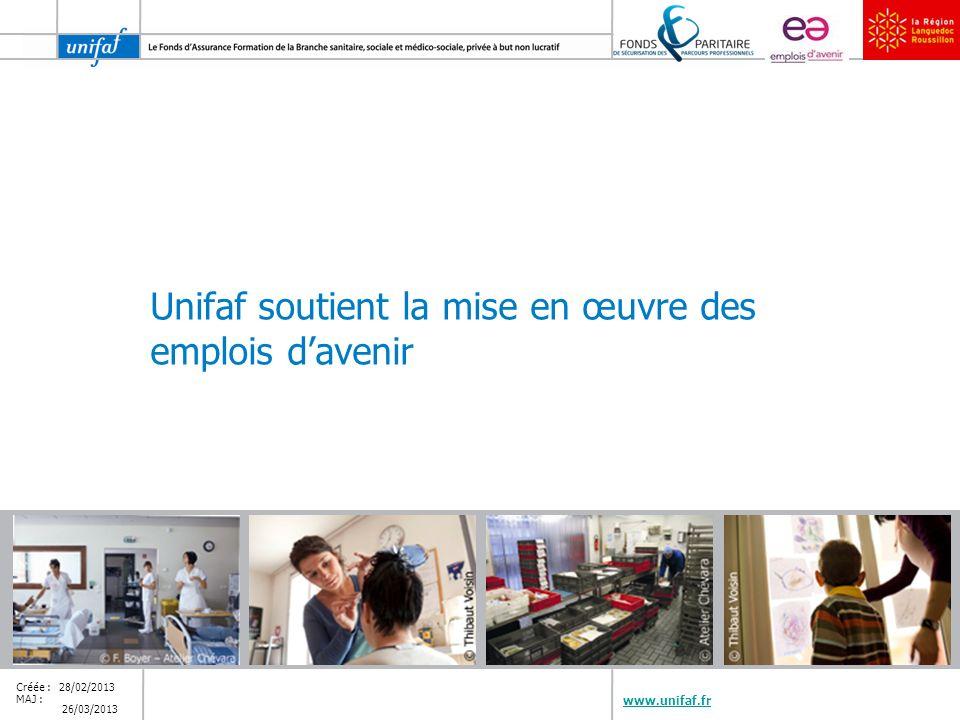 www.unifaf.fr 14/30 Emploi dAvenir, pour quelles structures.