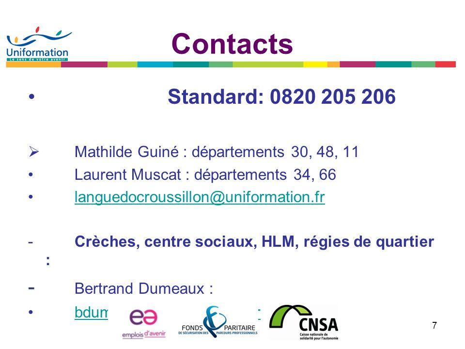 AGEFOS PME LANGUEDOC-ROUSSILLON EMPLOIS dAVENIR parcours métiers du sport Réunion MLJ OPCA du 29 janvier 2013