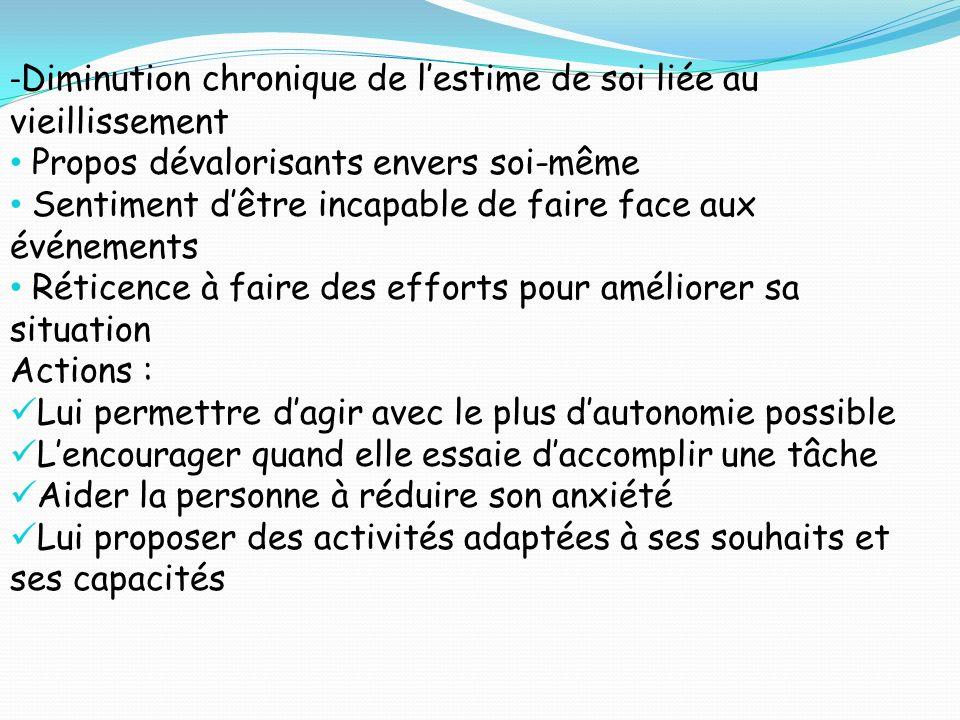 CONCEPTS CONCERNANT LA PRISE EN CHARGE DE Mme CASSAIT Dignité Pudeur/Intimité Autonomie Respect de ses volontés Respect des liens familiaux