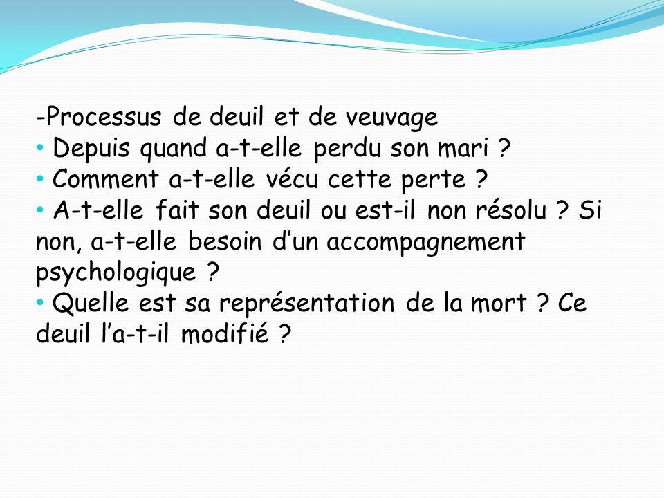 UE 2.1 BIOLOGIE FONDAMENTALE Situation Emblématique n°1: Mme Paulette CASSAIT