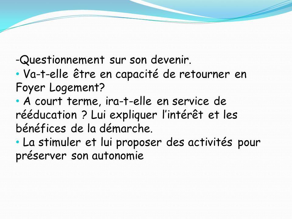 Présentation Mme Paulette CASSAIT a 85 ans.