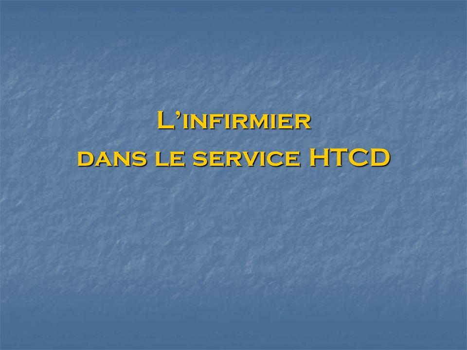 Linfirmier dans le service HTCD