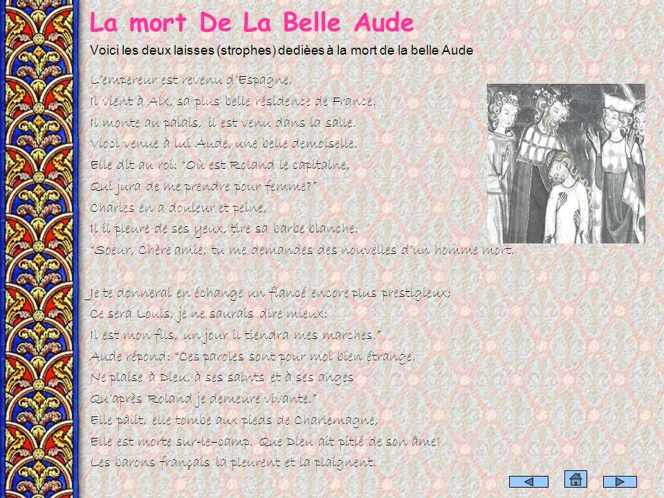 Les chansons de geste Aux XI et XII siècles la France a vu naître une poésie qui chante les exploits des grands héros nationaux: la poésie épique, rep