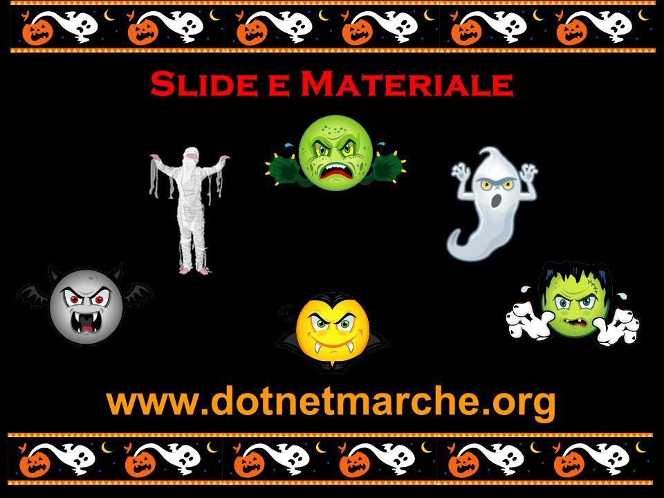 www.dotnetmarche.org Slide e Materiale