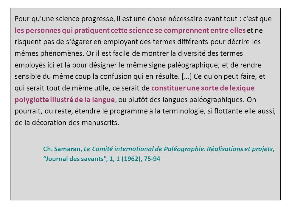 D.Muzerelle, Vocabulaire codicologique.