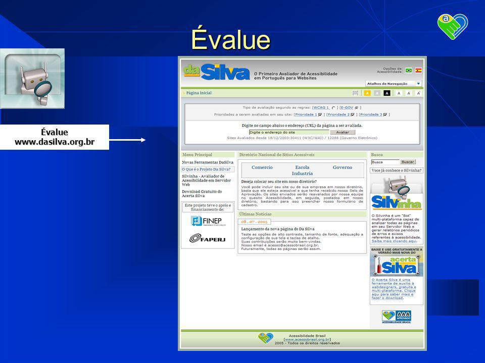 Évaluewww.dasilva.org.br Évalue