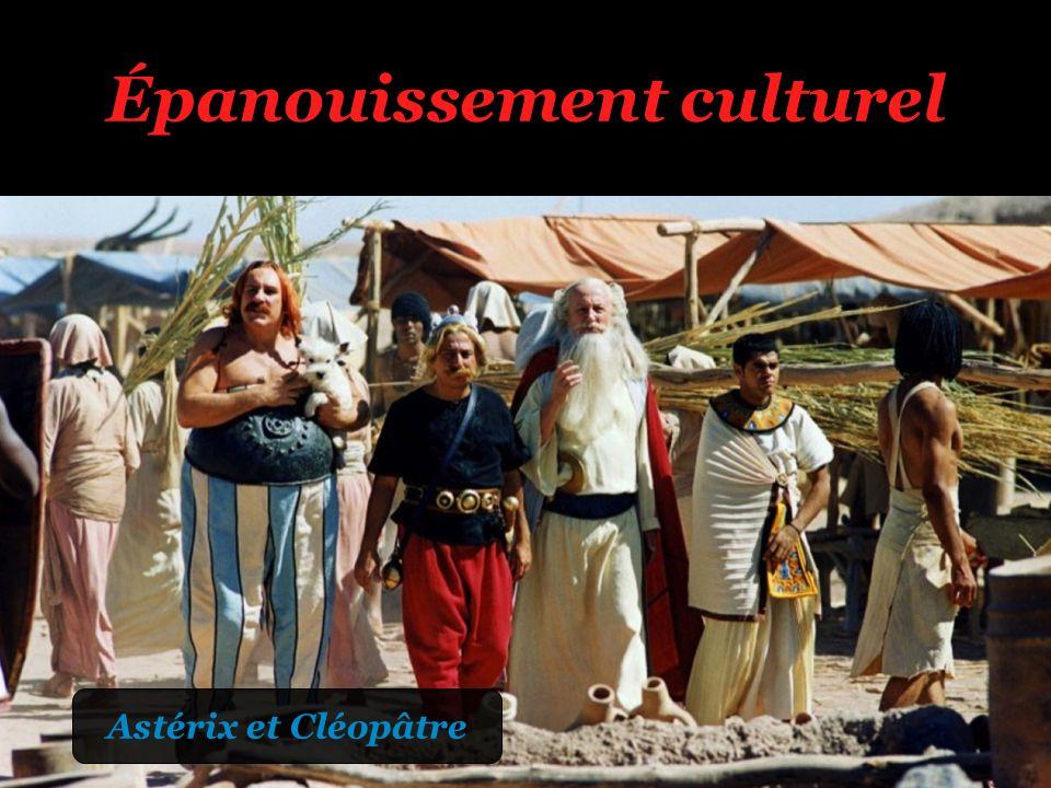Épanouissement culturel Astérix et Cléopâtre