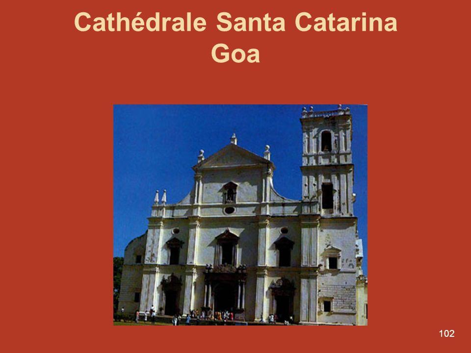 102 Cathédrale Santa Catarina Goa