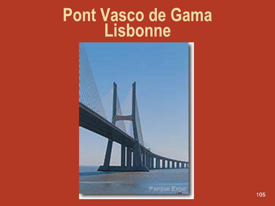 105 Pont Vasco de Gama Lisbonne