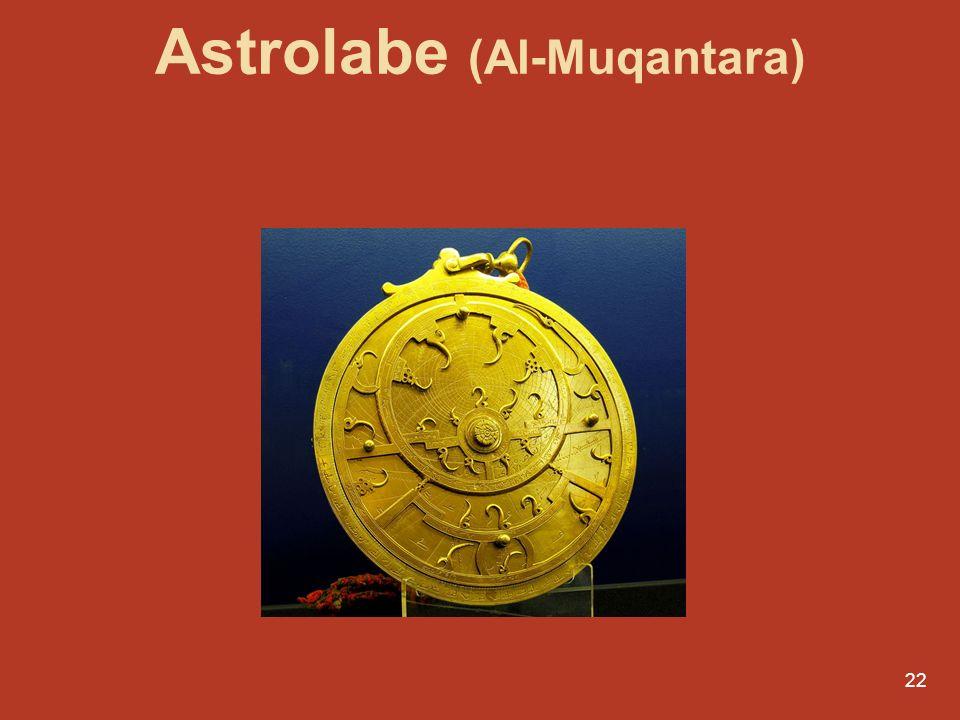 22 Conferências por Luís Aguila r Le Portugal, entre mers et monde Astrolabe (Al-Muqantara)