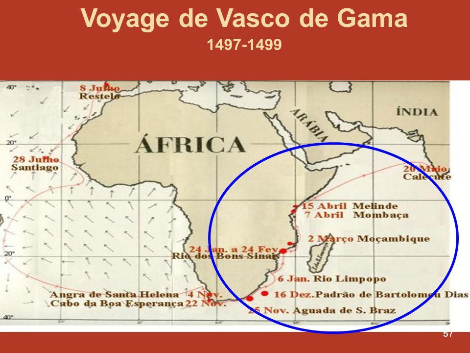 57 Voyage de Vasco de Gama 1497-1499