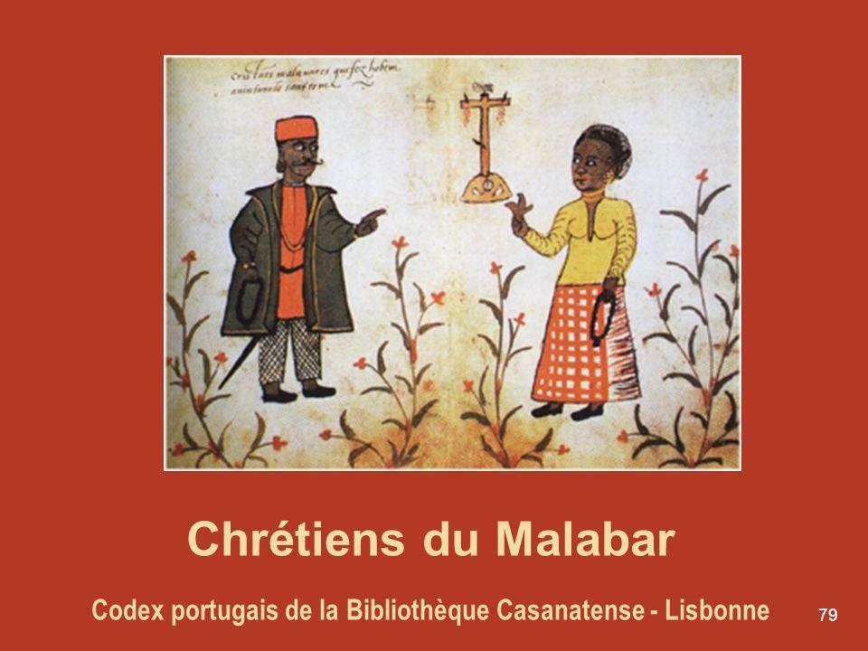 79 Chrétiens du Malabar Codex portugais de la Bibliothèque Casanatense - Lisbonne
