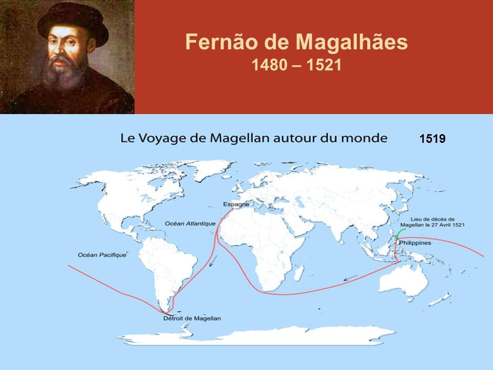 93 Fernão de Magalhães 1480 – 1521 1519