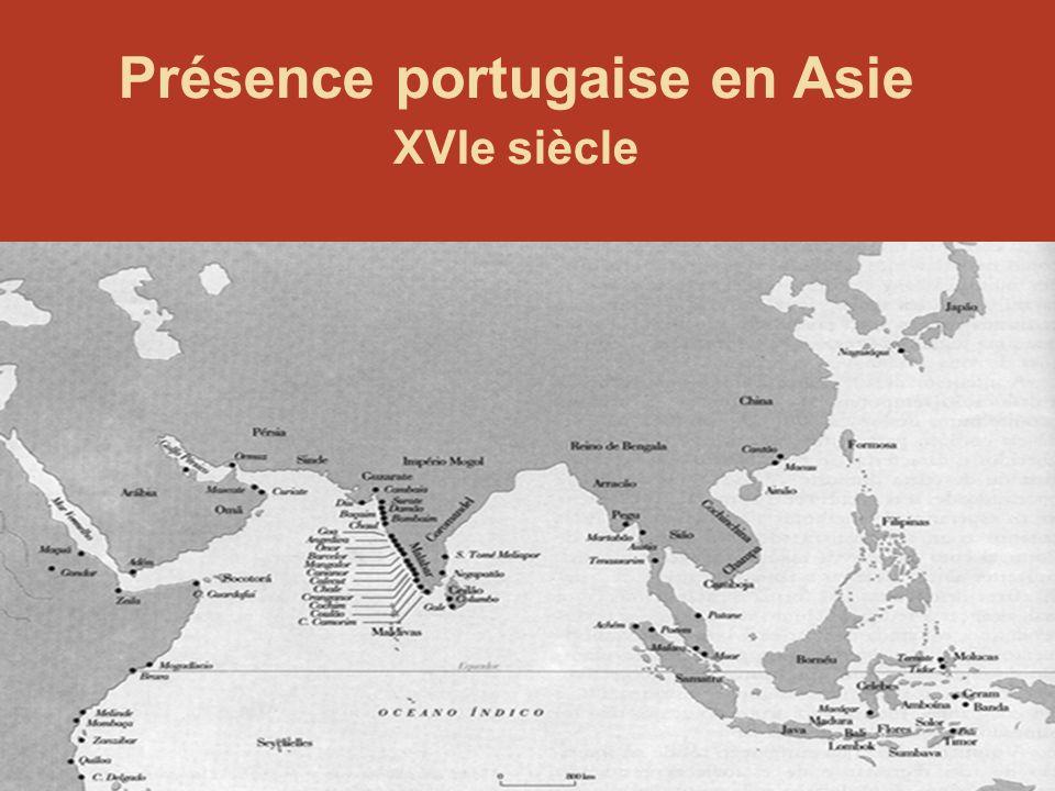 94 Présence portugaise en Asie XVIe siècle