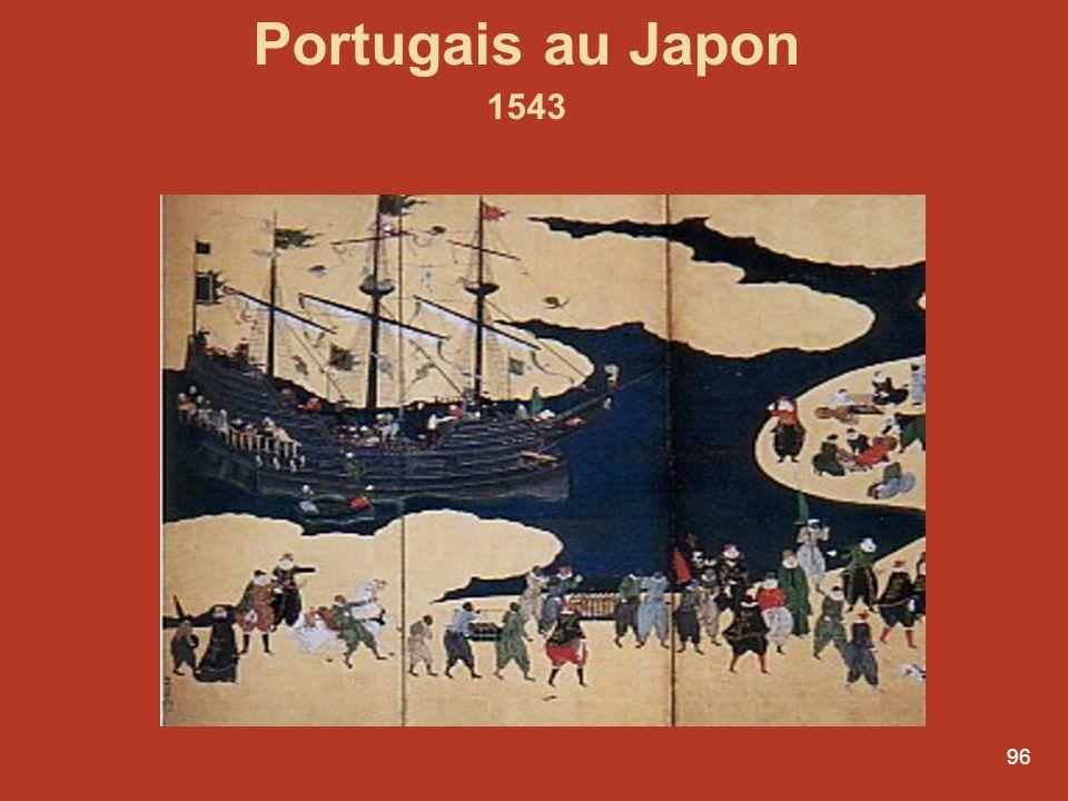 96 Portugais au Japon 1543