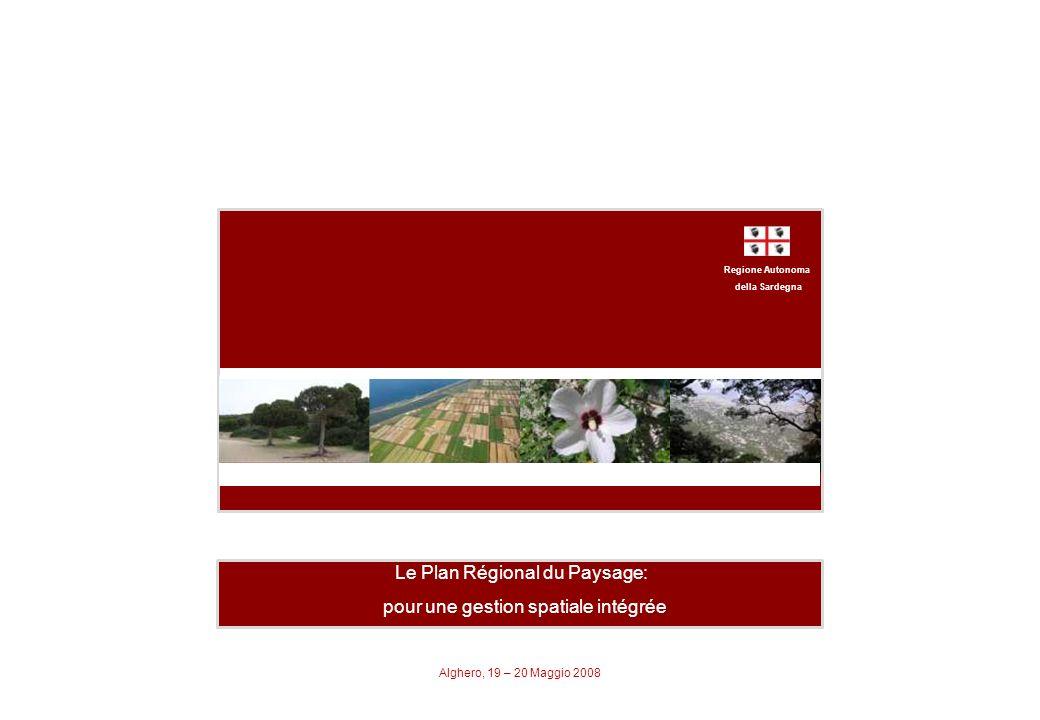 Regione Autonoma della Sardegna Piano Paesaggistico Regionale Aménagement de lImplatation - Réseau des Infrastructures